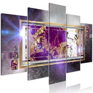Obraz - Golden Reflection (5 Parts) Wide