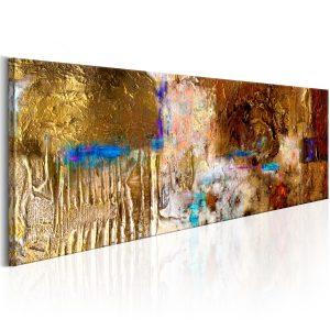 Ručne maľovaný obraz - Golden Structure