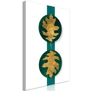 Obraz - Green Wealth (1 Part) Vertical