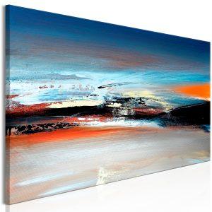 Obraz - Landscape at Dawn (1 Part) Narrow