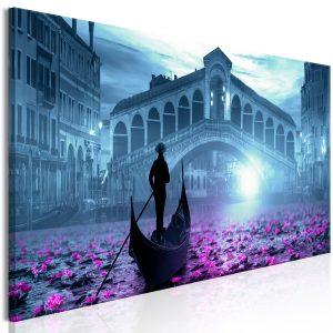 Obraz - Magic Venice (1 Part) Narrow Blue