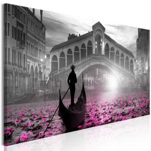 Obraz - Magic Venice (1 Part) Narrow Grey