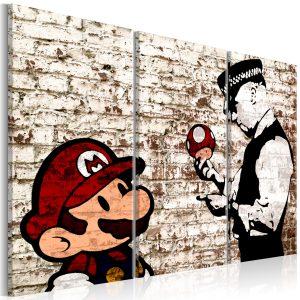 Obraz - Mario Bros: Torn Wall