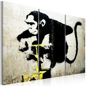 Obraz - Monkey TNT Detonator by Banksy