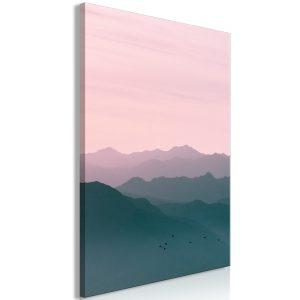 Obraz - Mountain At Sunrise (1 Part) Vertical