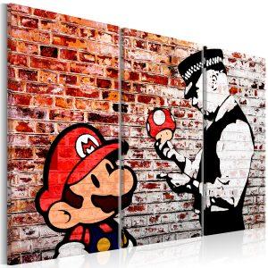 Obraz - Mural on Brick