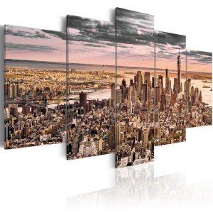 Obraz - New York City: Morning Sky