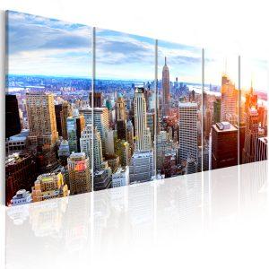 Obraz - New York: Sunrise