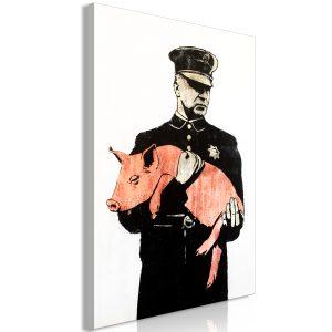 Obraz - Police Pig (1 Part) Vertical