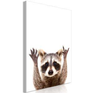 Obraz - Raccoon (1 Part) Vertical