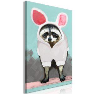 Obraz - Raccoon or Hare? (1 Part) Vertical