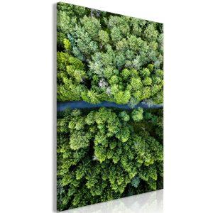 Obraz - Road Through Forest (1 Part) Vertical