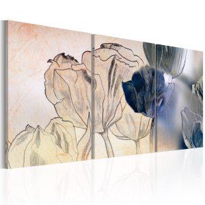Obraz - Sketch of Tulips