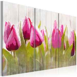 Obraz - Spring bouquet of tulips