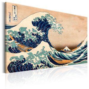Obraz - The Great Wave off Kanagawa (Reproduction)