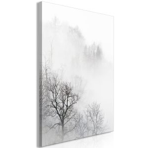 Obraz - Trees In The Fog (1 Part) Vertical