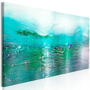Obraz - Turquoise Landscape (1 Part) Narrow