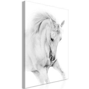 Obraz - White Horse (1 Part) Vertical