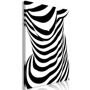 Obraz - Zebra Woman (1 Part) Vertical