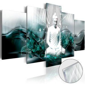 Obraz na akrylátovom skle - Azure Meditation [Glass]