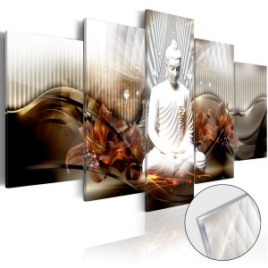 Obraz na akrylátovom skle - Crystal Calm [Glass]