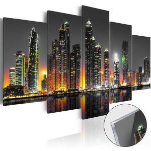 Obraz na akrylátovom skle - Desertic City [Glass]