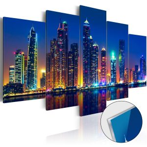 Obraz na akrylátovom skle - Nights in Dubai [Glass]