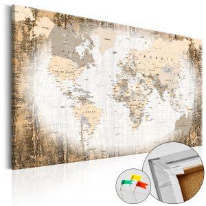 Obraz na korku - Enclave of the World [Cork Map]
