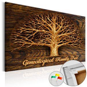Obraz na korku - Family Tree [Corkboard]