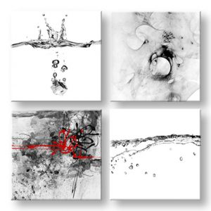 Obraz na stenu Abstract moments 4 dielny XOBKOL22E42