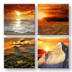 Obraz na stenu Beauty of the Earth 4 dielny XOBKOL19E42
