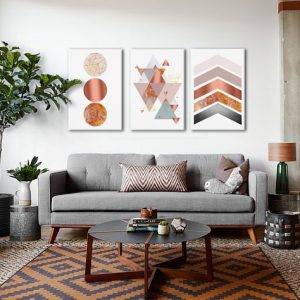 Obraz na stenu Lost Abstraction Rearranged / Dan Johannson  XOBDJ138E3