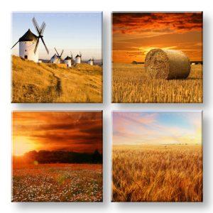 Obraz na stenu  Simple life 4 dielny XOBKOL28E42