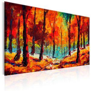 Ručne maľovaný obraz - Artistic Autumn
