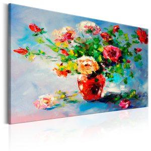 Ručne maľovaný obraz - Beautiful Roses