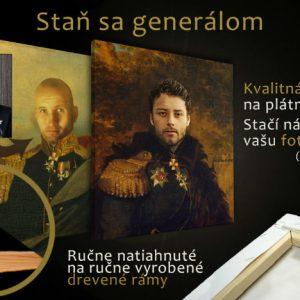 Staň sa GENERÁLOM - Obraz pre mužov FOTO-GEN