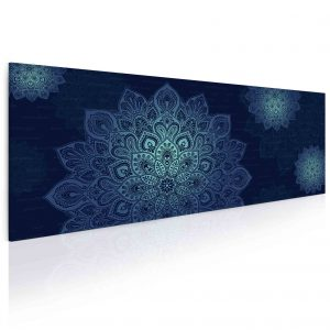 Obraz modrá mandala
