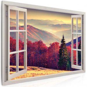 Obraz snový výhled z okna