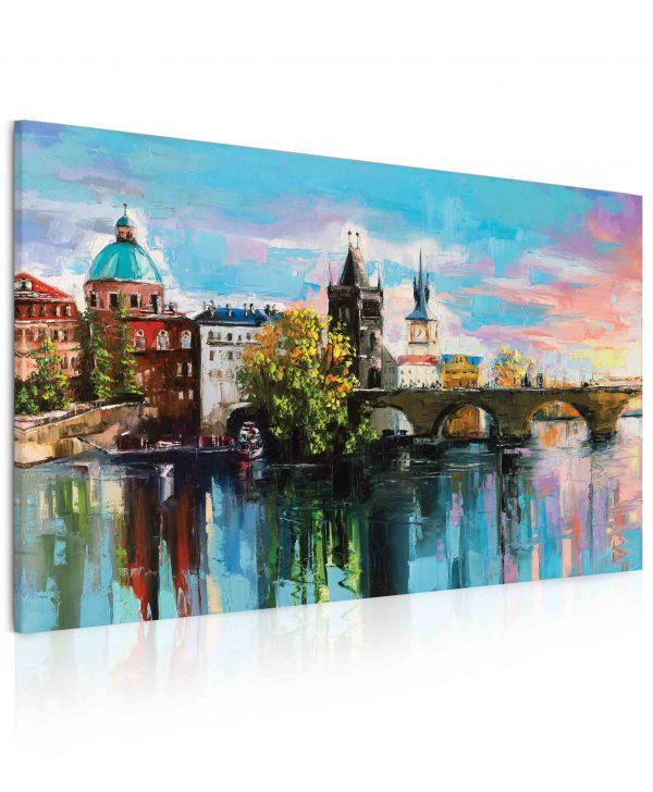 Obraz malovaný Karlův most II