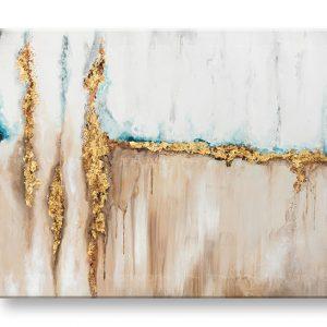 Maľovaný obraz na stenu ABSTRAKT 1 dielny YOBATAB010E1