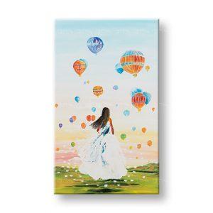 Maľovaný obraz na stenu ŽENA 1 dielny YOBATLN008E1